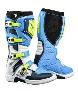 Bottes cross Kenny Performance - Bleu Cyan 45