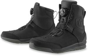 Baskets moto Icon Patrol 2 WP3 - Noir 46