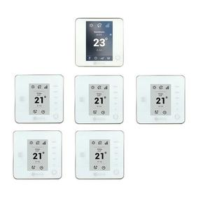 Pack Thermostats Blue Think Radio Airzone Blanc 6 Zones Airzone