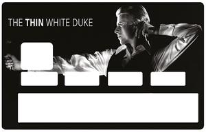 Sticker pour carte bancaire, DAVID BOWIE, The Thin white duke